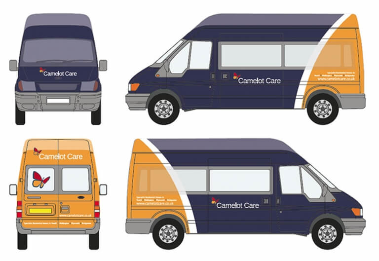 Camelot Care Bus Design