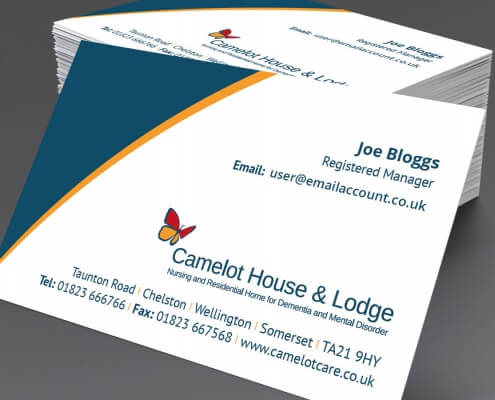 Camelot Care Business Card
