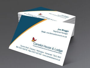 Camelot Care Business Card Large