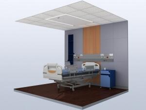 Hospital Lighting 3D Design