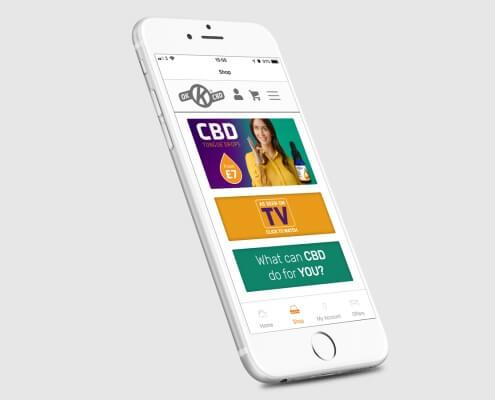 OK CBD Mobile App