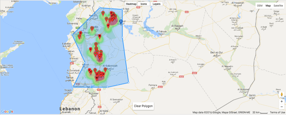 Sicuro IMS Platform Map Draw Search