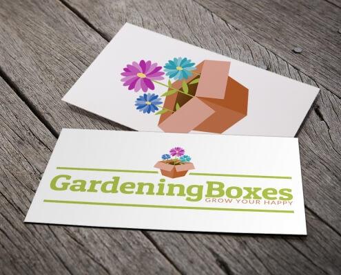 GardeningBoxes-Brand design