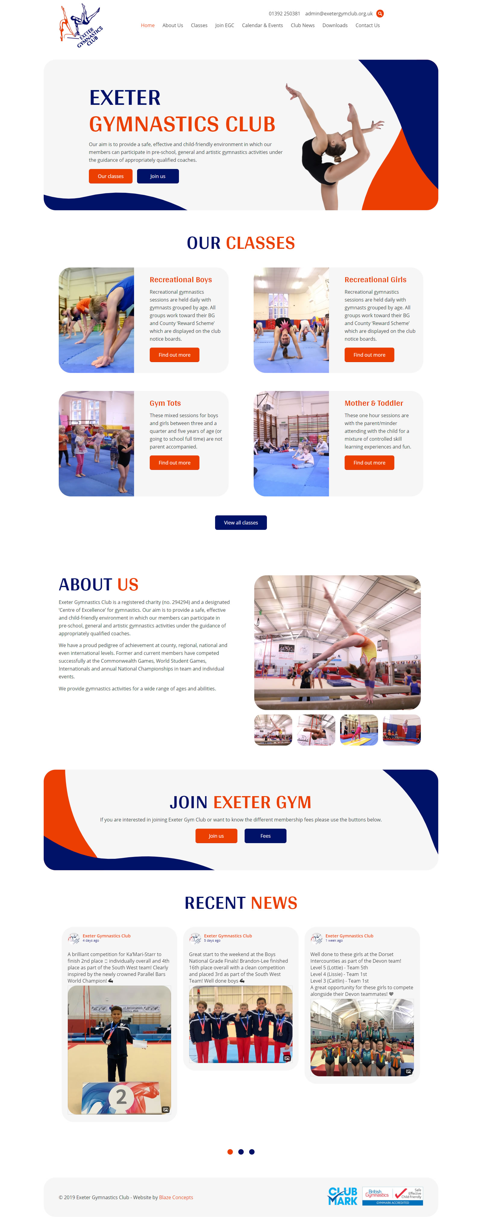 Exeter Gymnastics Club